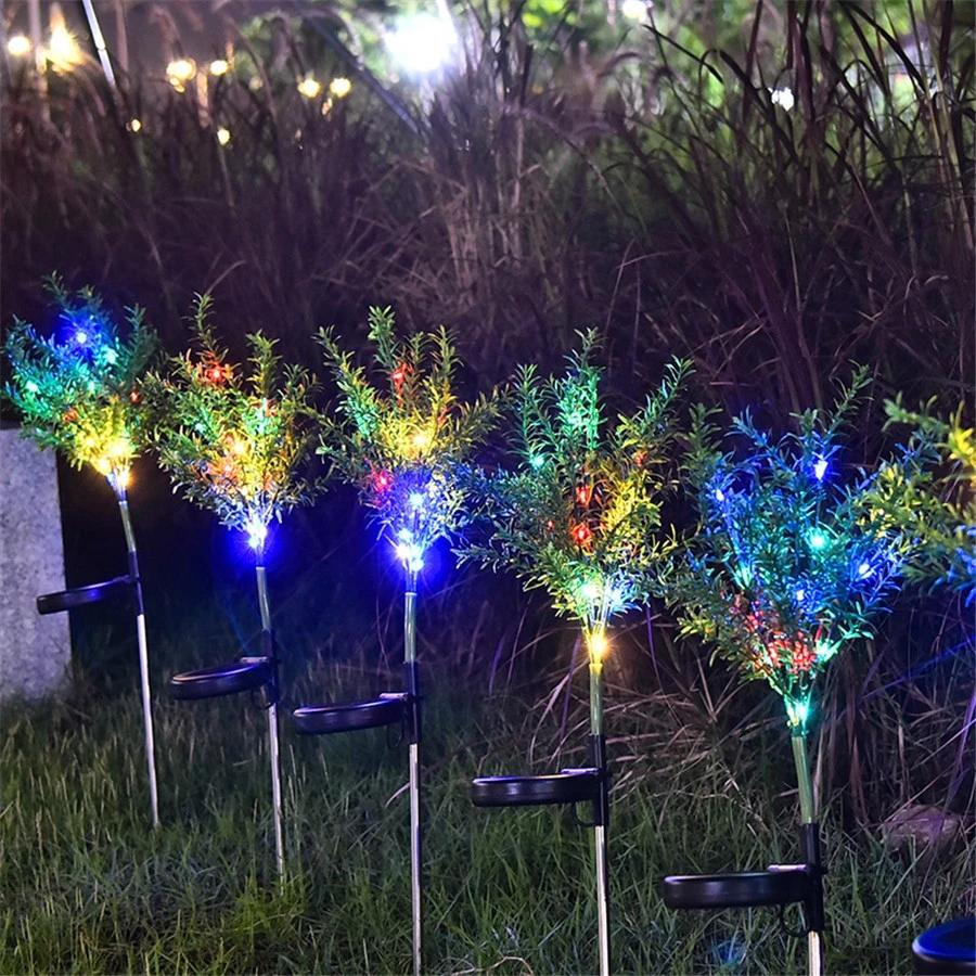 Lampu Taman Tenaga Surya Anti Air Ip65 Bentuk Pohon Natal Untuk Dekorasi Outdoor Shopee Indonesia
