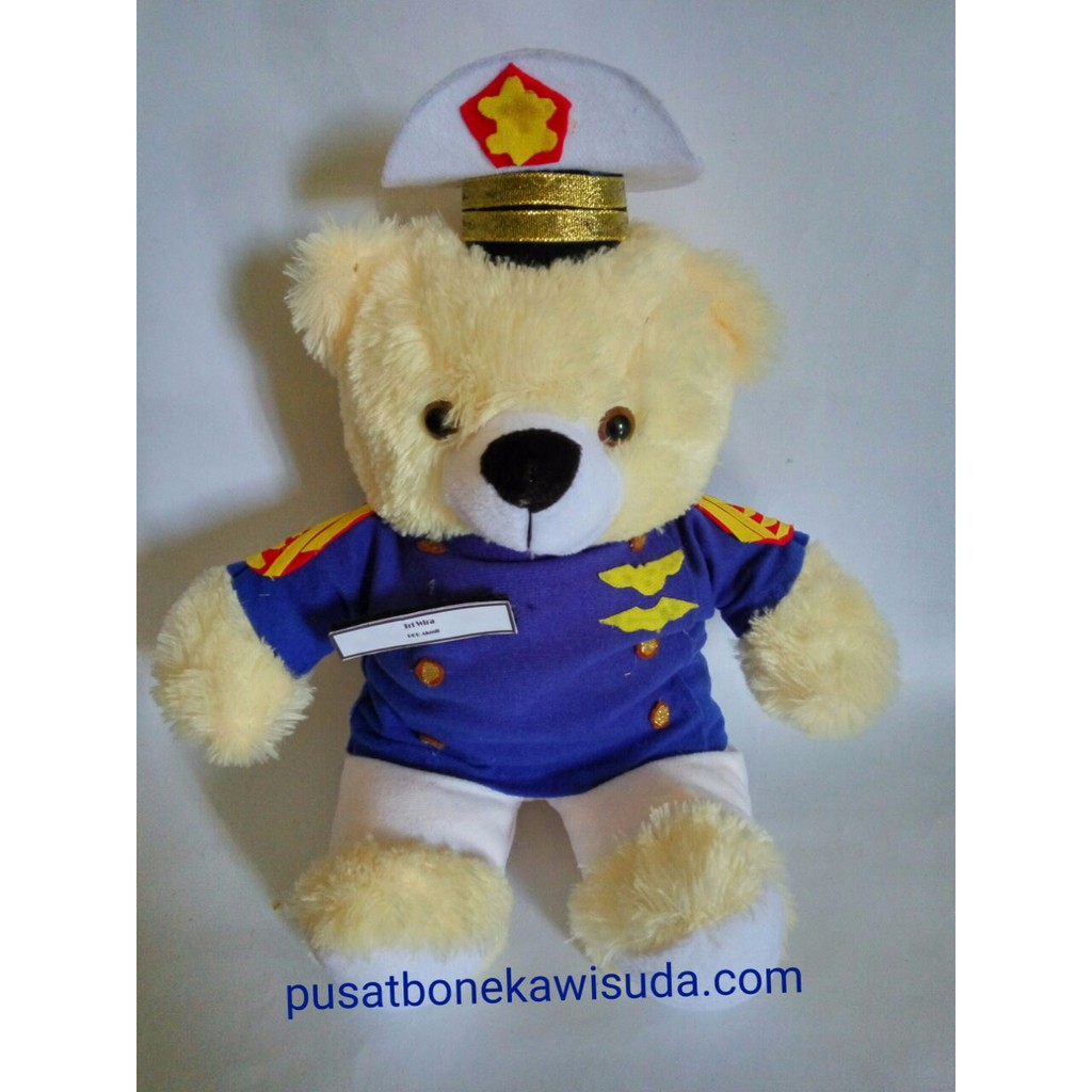 Boneka Wisuda Teddy Bear Murah + Gratis Pakaging Cantik   Costum ... 905170f9db