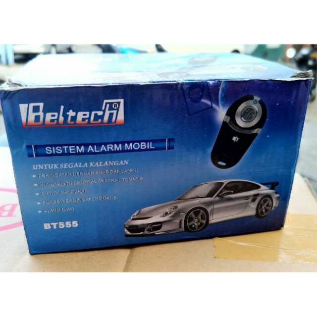 Alarm Mobil Merek Hollywood Sakura / Alarm Kunci Remote Model Terbaru Waterproof   Shopee Indonesia