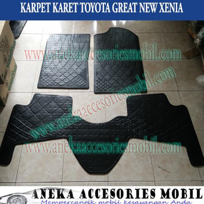 Interior Mobil DAIHATSU XENIA Karpet Mobil Karet PVC DURABLE 1Pcs Baris 3 BEIGIE | Shopee Indonesia
