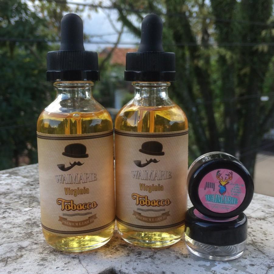 Liquid Waimarie Virginia Tobacco 60 Ml Nic 3 Mg Shopee Indonesia Khawanika 60ml Eliquid Vape Vanilla Premium
