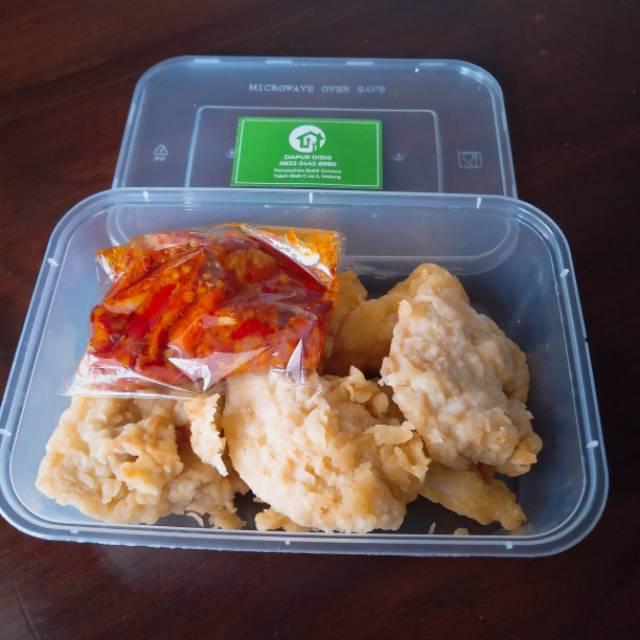 Frozen Food Ayam Karage Sambal Geprek Malang Shopee Indonesia