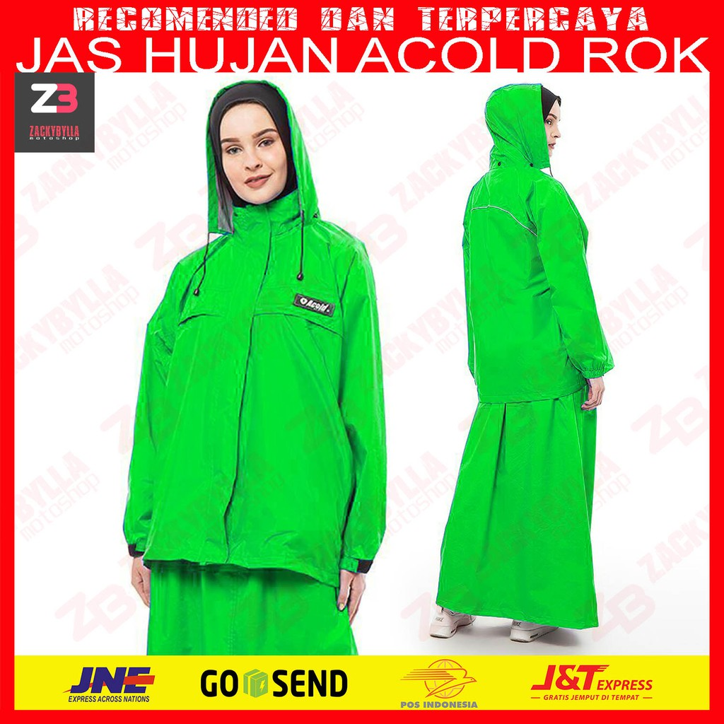 Jas Hujan Muslimah Totally Hijab Shopee Indonesia Mds 4