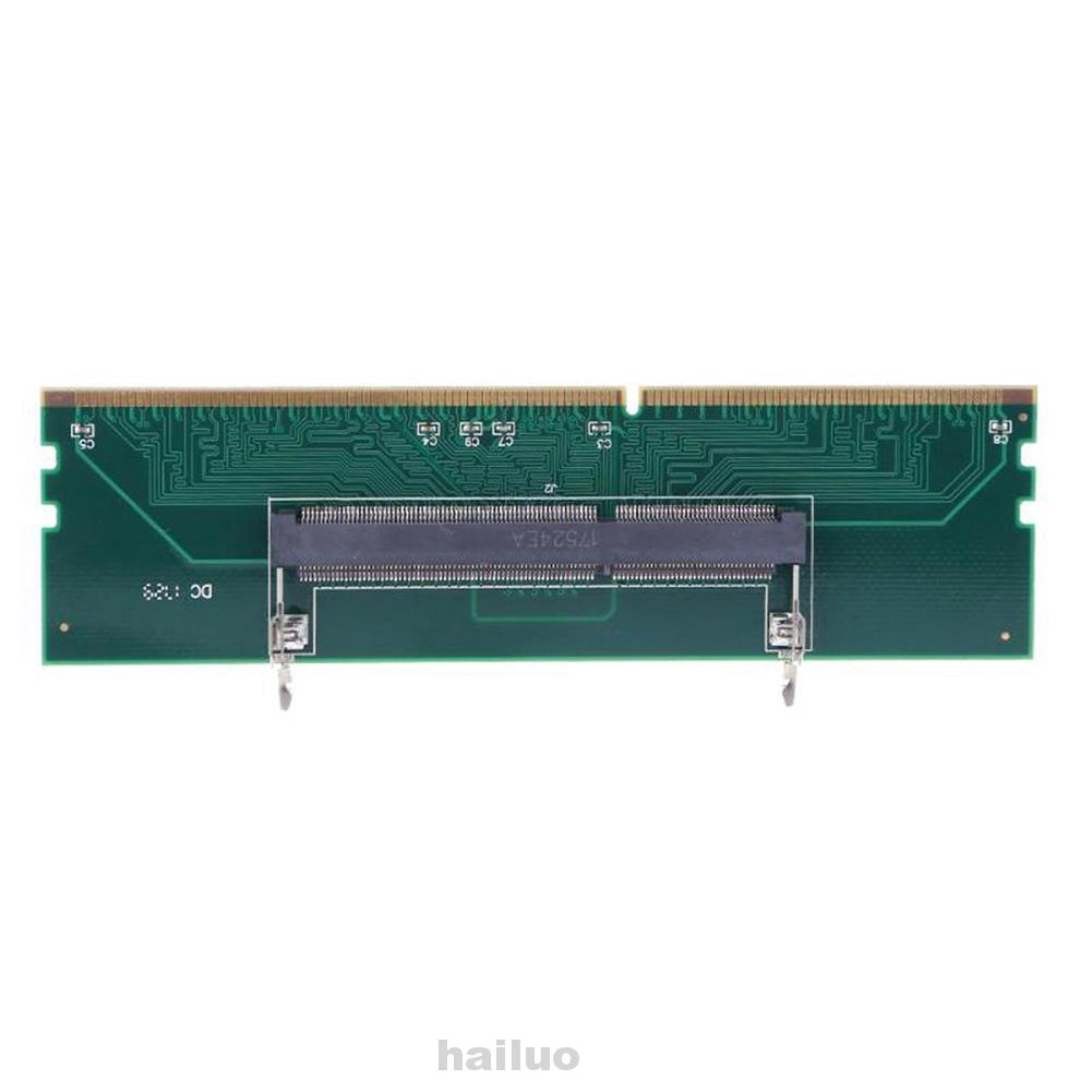Test Laptop Dimm Connect Computer Component Accessory 240 To 204p Memory Adapter Card Shopee Indonesia