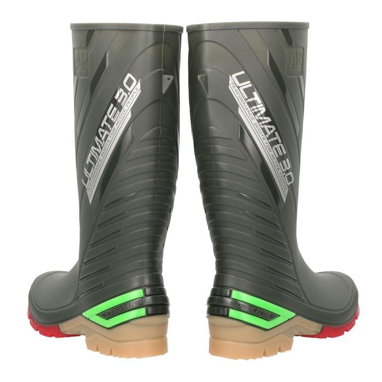 AP Boots Ap Ultimate 3.0 2015 Sepatu Safety Boots Karet Motor Biker Panjang  Anti Air Sepatu Banjir  982907fcfb