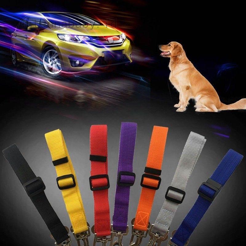 Dog Car Safety >> Pet Dog Car Belt Lead Clip Safety Harness Restraint Car Journey Travel Uk
