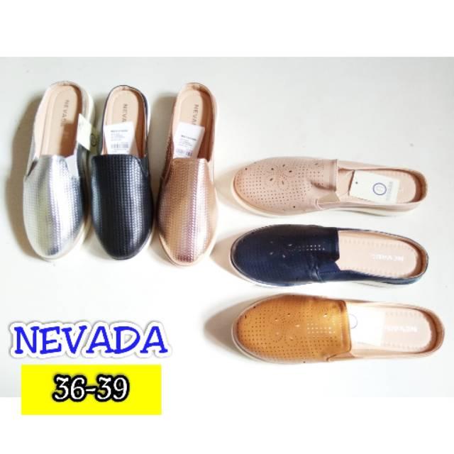 OBRAL SEPATU SENDAL SLIP ON MSM NEVADA BRAND MATAHARI 9b39e95472