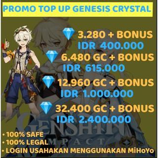 Top Up Genshin Impact Murah Shopee Indonesia