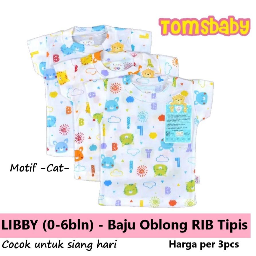 Tomsbaby_ SML/ LIBBY 3pcs Kaos Oblong Pendek RIB (Seri Warna) | Shopee Indonesia