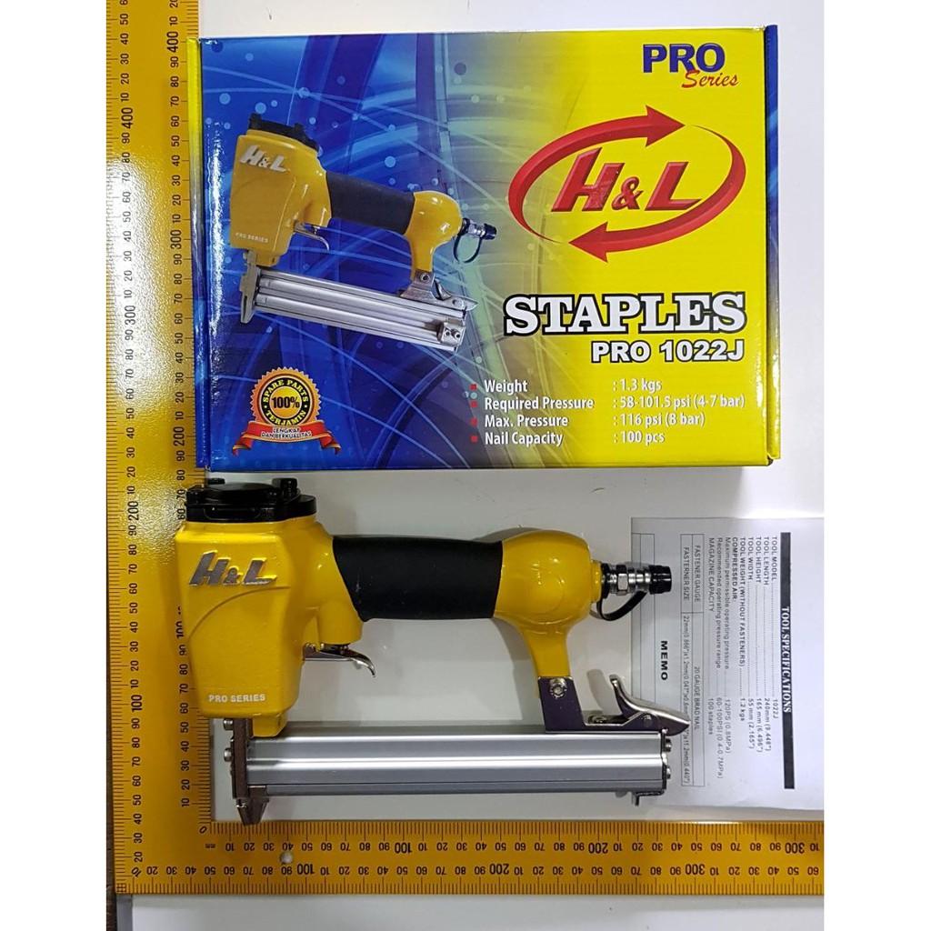 Order, mesin air nailer 1022J NRT-PRO/ staples angin tembak paku | Shopee Indonesia