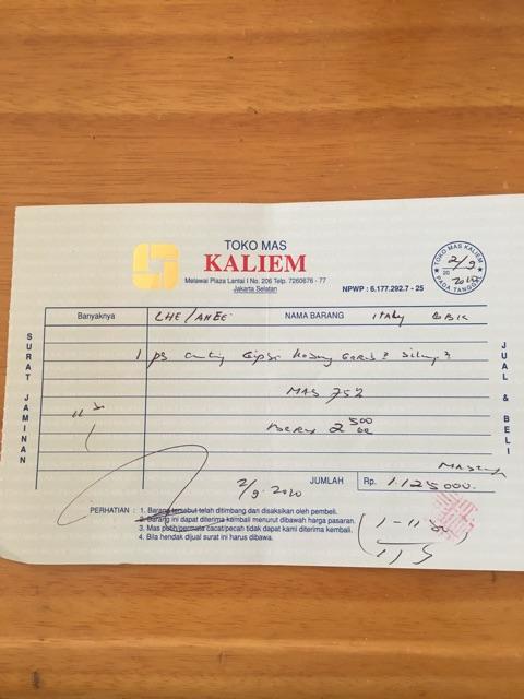 Anting Emas 75 Berat 2 50 Gr Model Gipsy Italy Shopee Indonesia