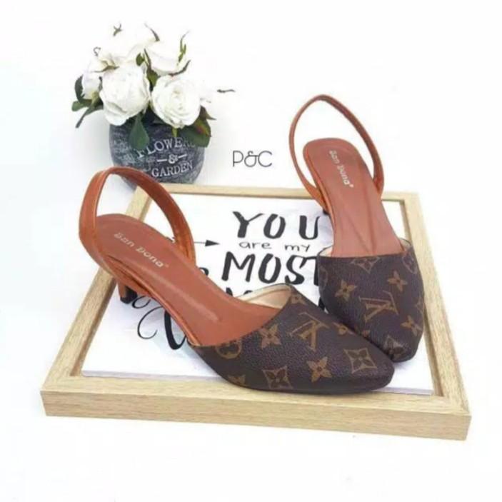 heels toes - Temukan Harga dan Penawaran Sepatu Hak Online Terbaik - Sepatu  Wanita Januari 2019  48faa2da45