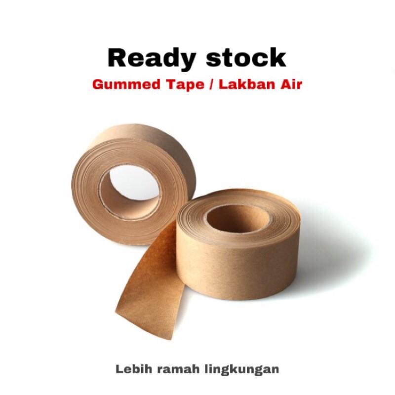 Gummed Tape Lakban Air Ramah Lingkungan