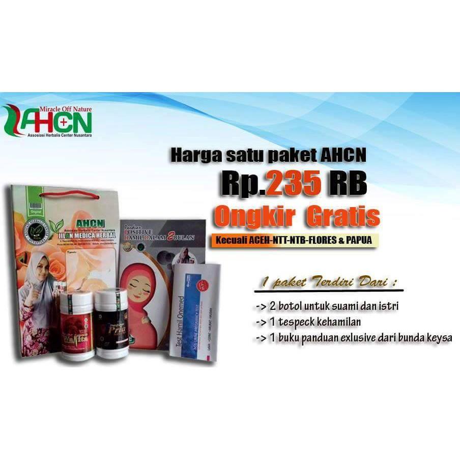 Promil Ahcn Herbal 100 Program Hamil 2 Bulan 90 Positif Shopee Paket Obat Kesuburan Pria Wanita Untuk Cepat Punya Anak Indonesia