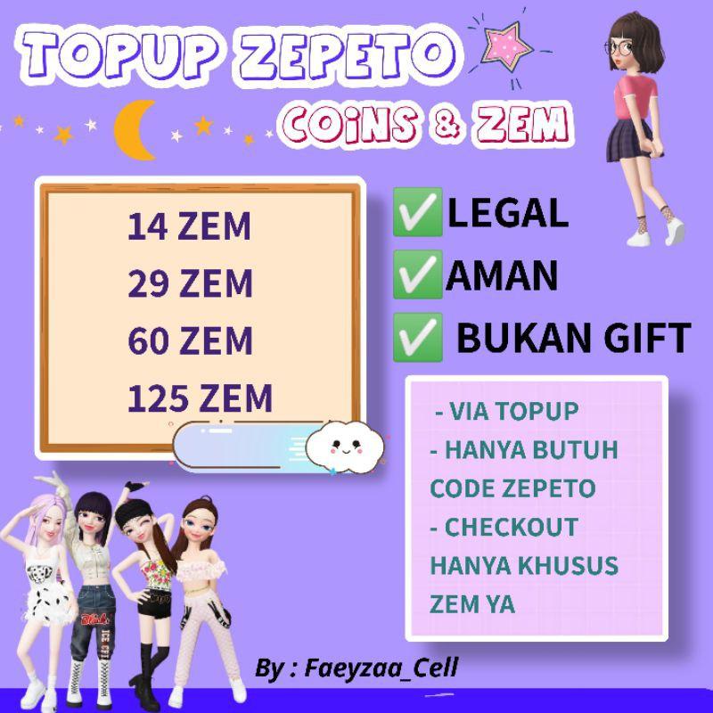 Topup ZEM Zepeto Legal #4