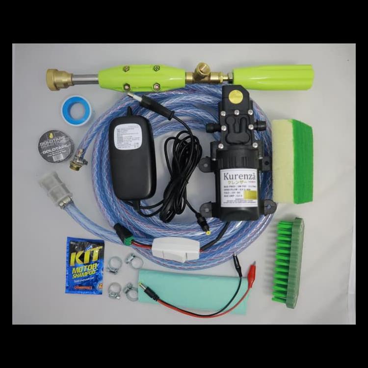 Mesin Power Sprayer Portable Alat Cuci Motor Mobil Steam Kode 490