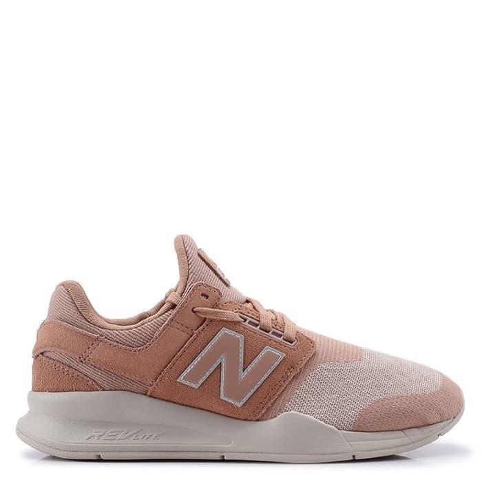 BIG PROMO New balance 247 V2 Lifestyle womens pink Shoes sepatusneakers ORI