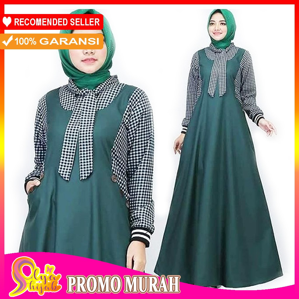 Baju Gamis Syari Murah Wanita
