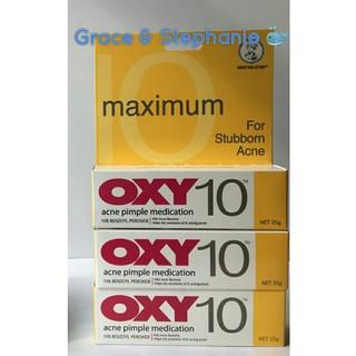 Jual Oxy 10 25Gr Acne Pimple Medication \U002F Obat Jerawat Oxy10 Murah   Shopee Indonesia