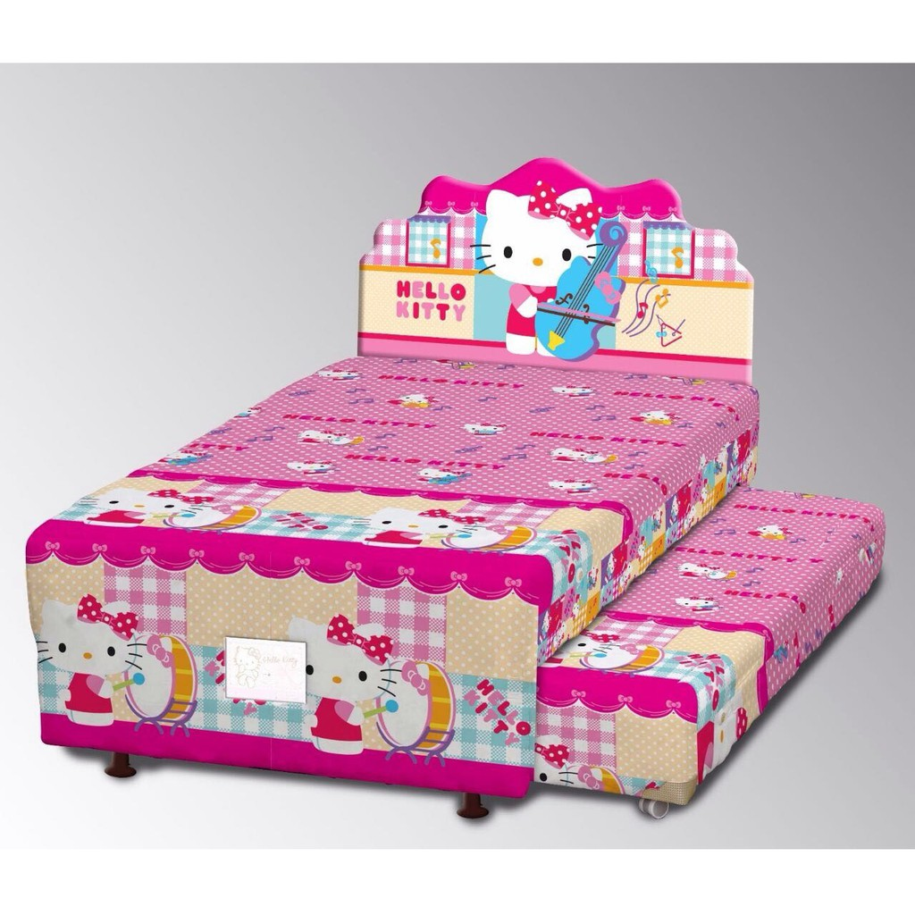 Big Dream Spring Bed 2 In 1 Karakter Barbie 100 Full Set Shopee Kasur Uniland Paradise Box Magnolia 180x200 Tanpa Divan Sandaran Indonesia