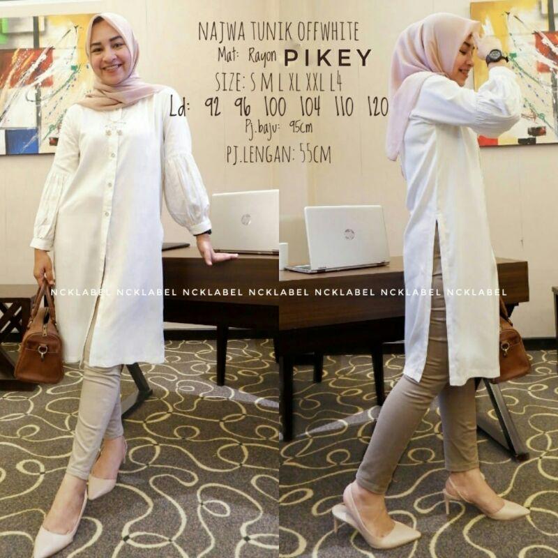 RESTOK Najwa tunik by Nck label