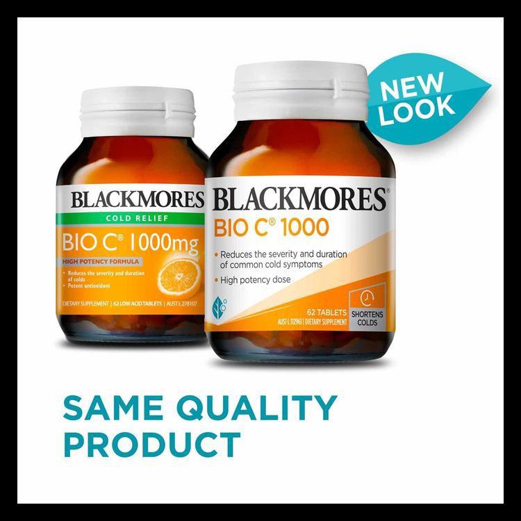Blackmores Bio C 1000mg Australia Vitamin Vit C 1000 Mg 31 62 150 150 Tablet Kode 406 Shopee Indonesia