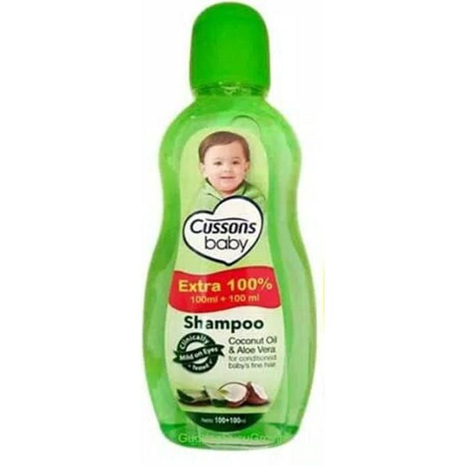 ORIGINAL Cussons Baby Shampoo 100ml+100 ml & 50ml+50ml / Cusson Shampoo Bayi / LEDI MART-Shp Coconut 100+100