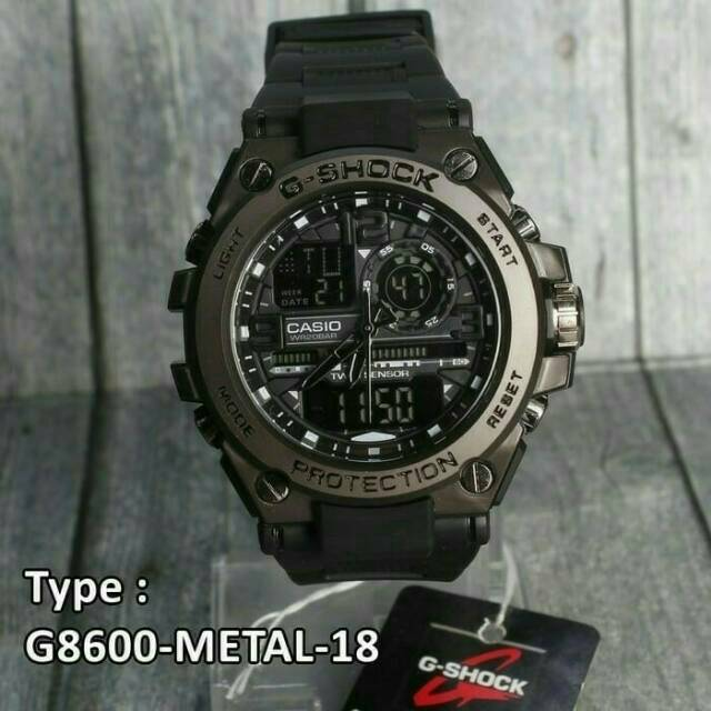JAM TANGAN PRIA G-SHOCK CASIO G8600 METAL HS  38e2921dd5