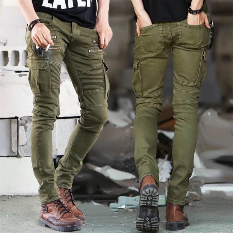 6af6996d6d 2018 new Men's Bib Denim jumpsuit Male Autumn Ladies Loose Striped Trousers  | Shopee Indonesia