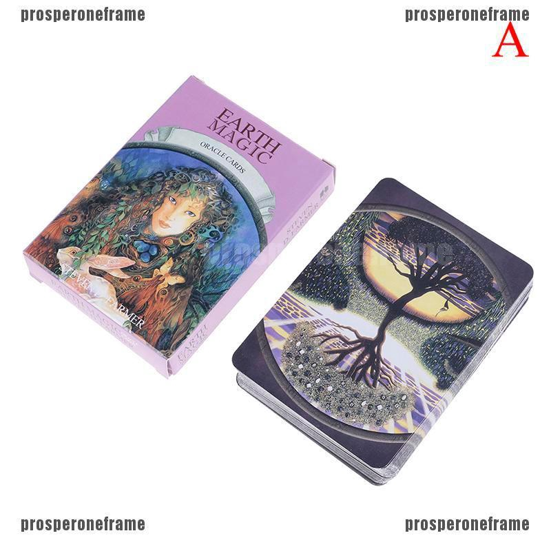 Feileng Tarot Cards Beginner Deck Vintage 78 Cards Waite Future Telling Game in Colorful Box Sale/ 2019