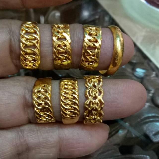 emas: Harga Cincin Emas 2 Gram 24 Karat