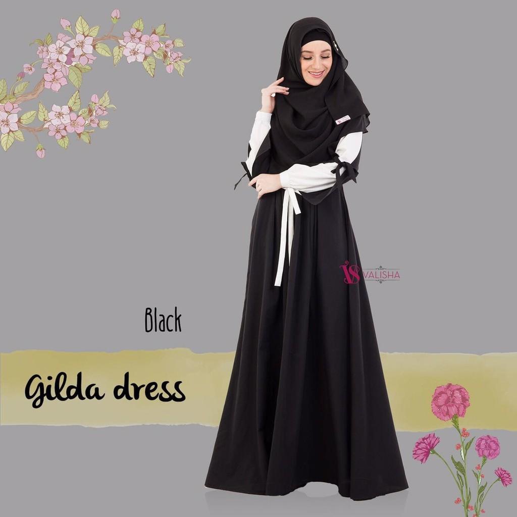 BEST SELLER TERBARU Gamis Amily Denimora Mocca - baju gamis wanita busana muslim gamis | Shopee Indonesia