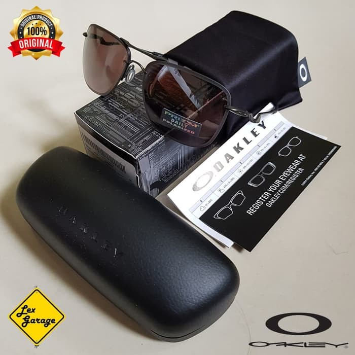 53cc6f778f Aksesoris - Kacamata - Fashion Pria Oakley Triggerman - Matte Black   Black  Iridium Ready Stock