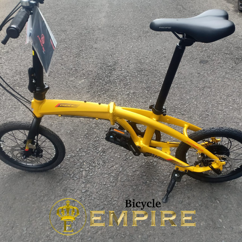 Sepeda Lipat 16 Inch Pacific Noris 1 0 7speed Bicycle