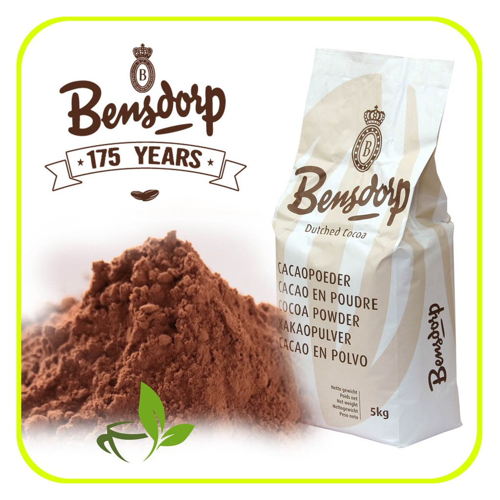 Bensdorp Pure Cocoa Powder Bensdrop Coklat Murni Bubuk Coklat 500gr    Shopee Indonesia