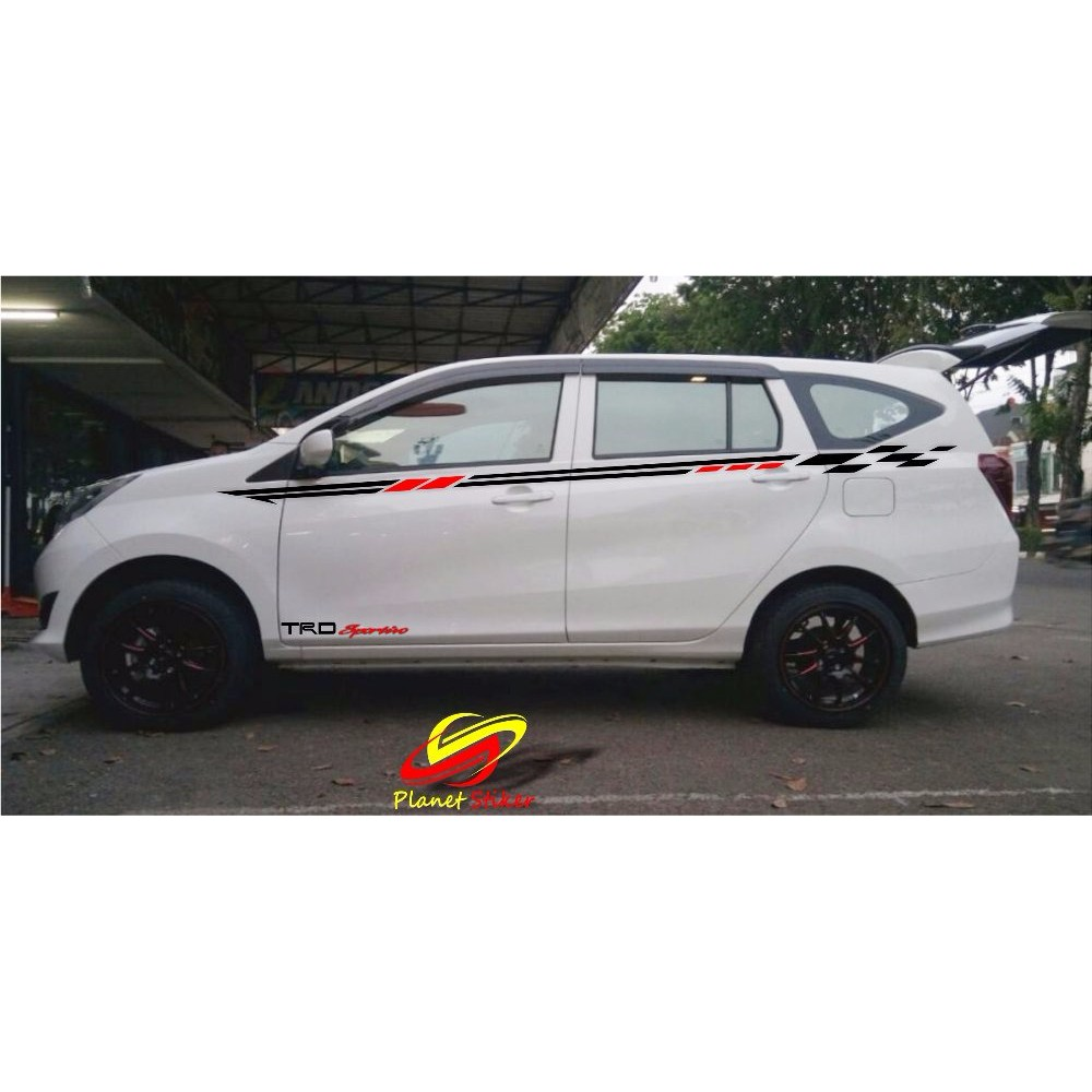 STICKER CUTTING STIKER MOBIL TOYOTA CALYA DAIHATSU SIGRA SIMPLE