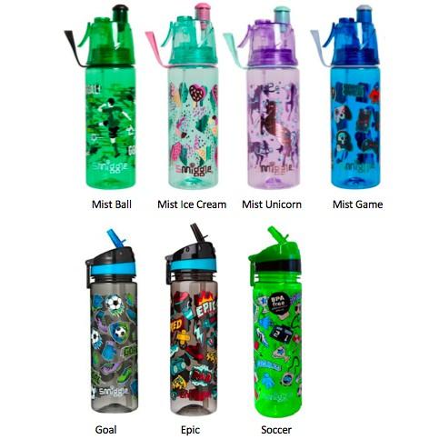 soccer mist water bottle