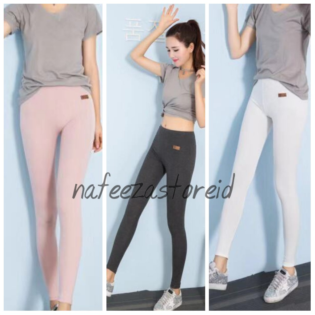 Legging Import Korea Super Premium Shopee Indonesia