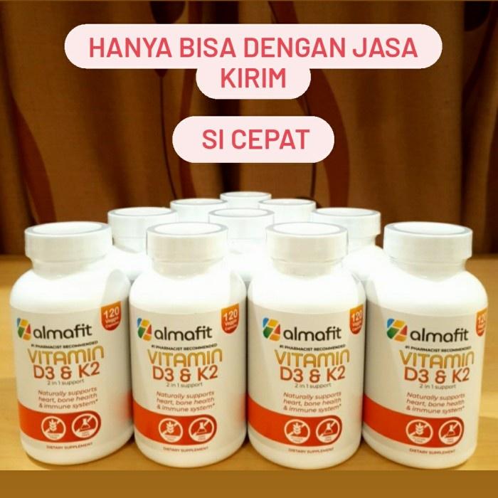 vitamin d 3 Almafit vit d 3 5000 iu + k 2 jantung sehat imunitas kuat