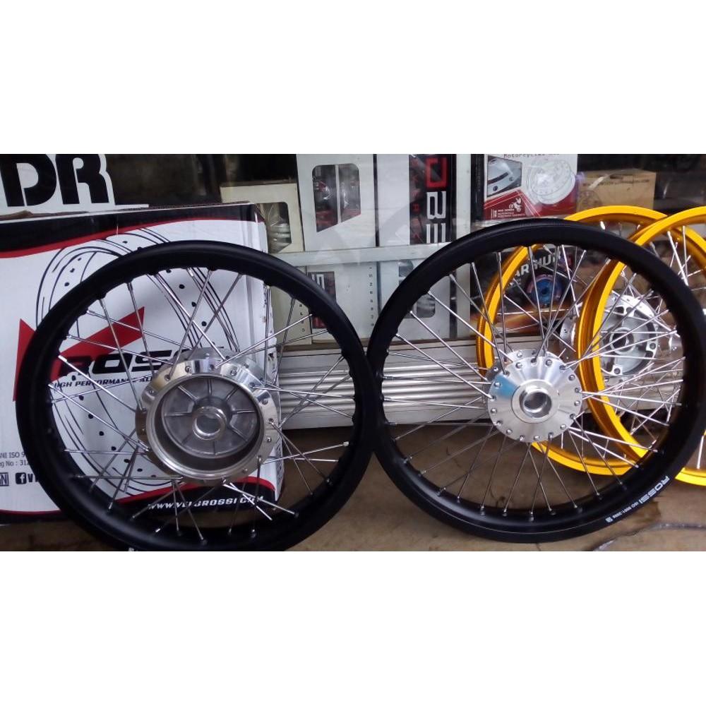 Dijual Velg Rossi Master 140x 17 Wm 1set Depan N Belakang 36 Lebar 140 Ring 2pcs Warna Gold Murah Shopee Indonesia