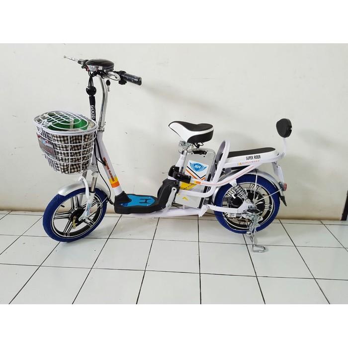 Sepeda Listrik Terbaru Mars Platinum Buat Kendaraan Motor Tanpa Sim Trendy | Shopee Indonesia