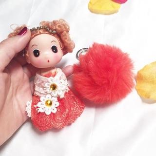 Bagcharm murah boneka dan furball   cute doll   bagchain   keychain    gantungan tas   gantungan ddcbabcff5