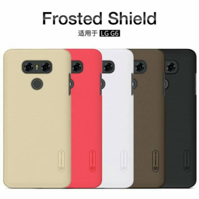 Nillkin Frosted Shield Hardcase for Oppo A39 - Black + Free Tempered Glass | Shopee Indonesia