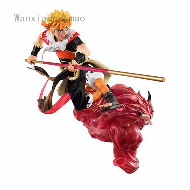 Anime Naruto Shippuden Four tails Uzumaki Naruto PVC Action Figure Figurine Toy