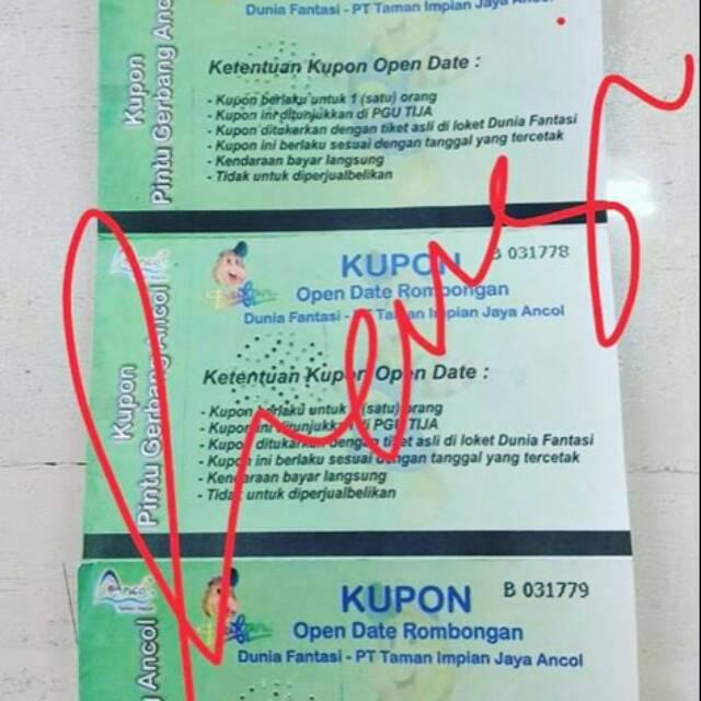 Tiket Dufan Ancol