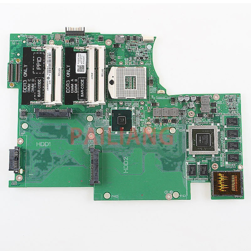 Hardware Pailiang Laptop Motherboard For Dell Xps 17 L701x Pc Mainboard 3d 4 Ram Slot 053jr7 Shopee Indonesia