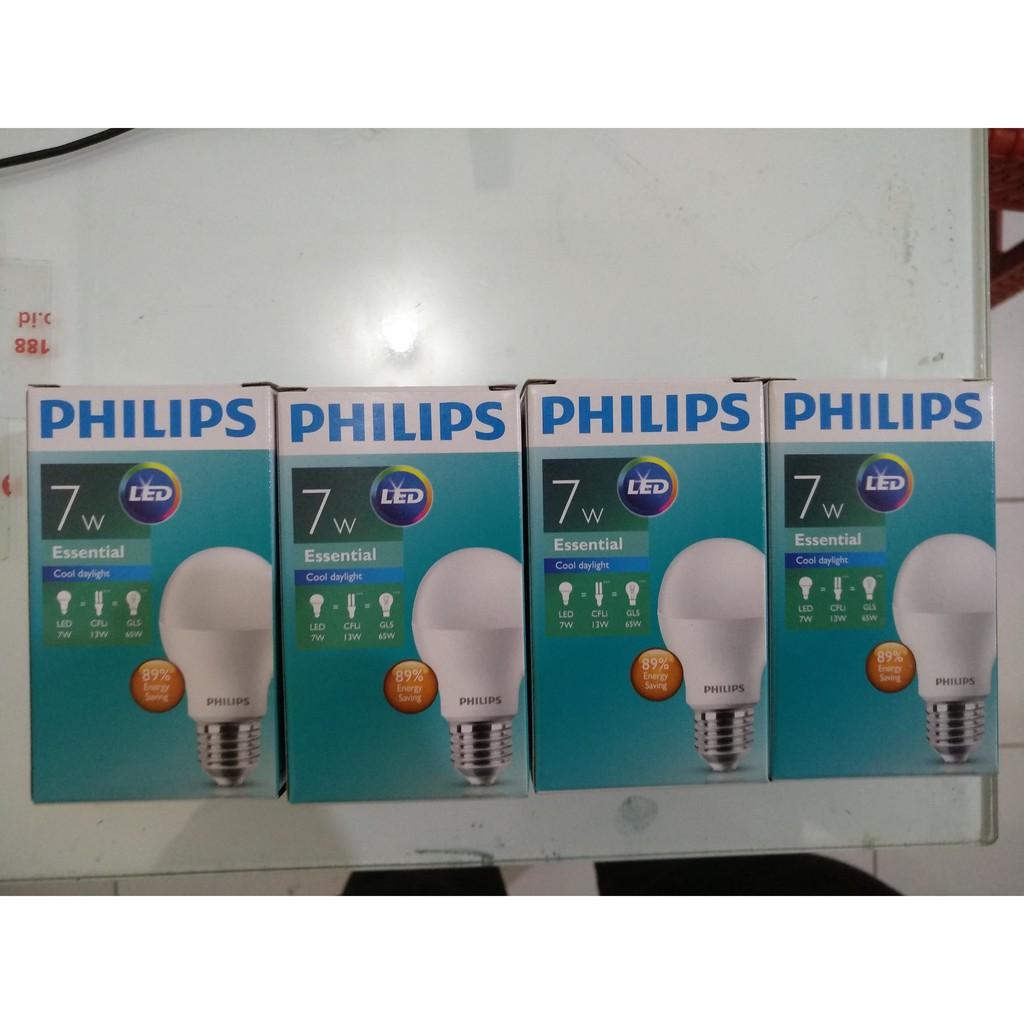 4pcs Bundling Paket Led Lampu Putih Philips 8 Watt 8w 8watt Bulb 13 6500k 3 Gratis 1 Shopee Indonesia