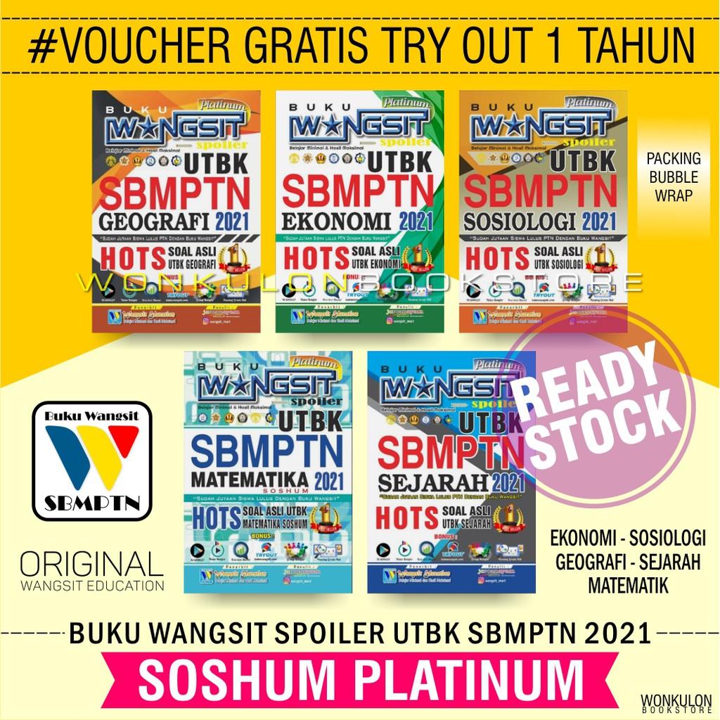 Buku Wangsit 2021 / UTBK SBMPTN 2021 / SOSHUM Platinum ...