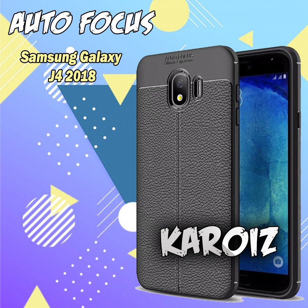 Case Auto Focus Samsung Galaxy J4 2018 Leader Experience Softcase Jelly Silicon | Shopee Indonesia