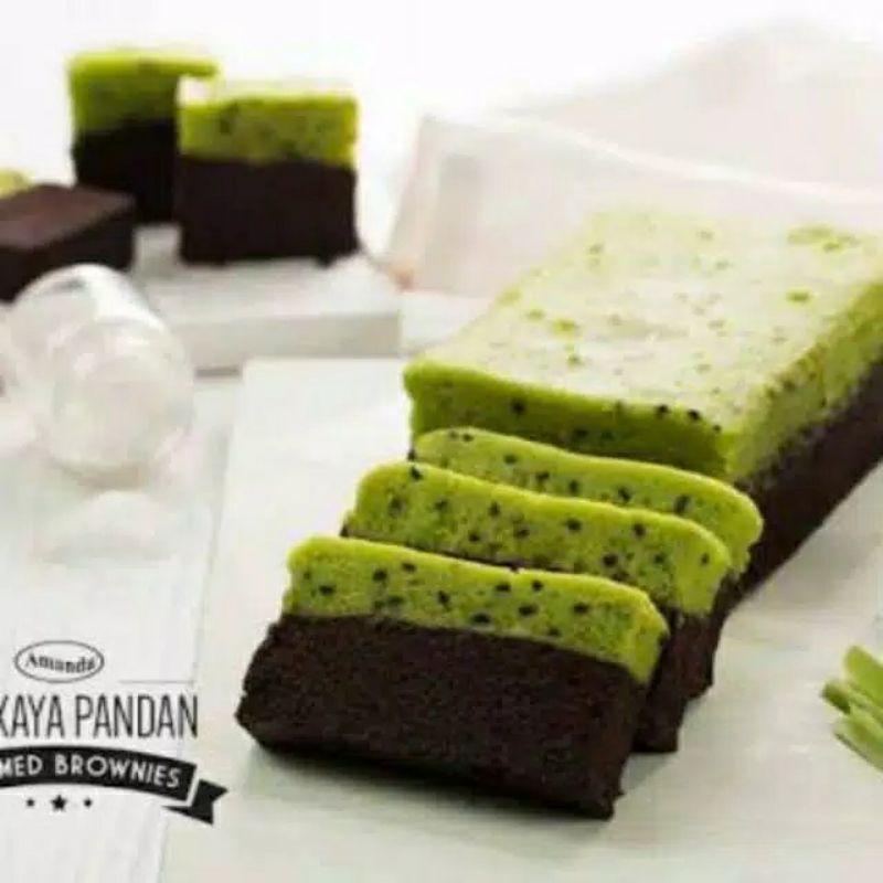 brownies amanda serikaya pandan